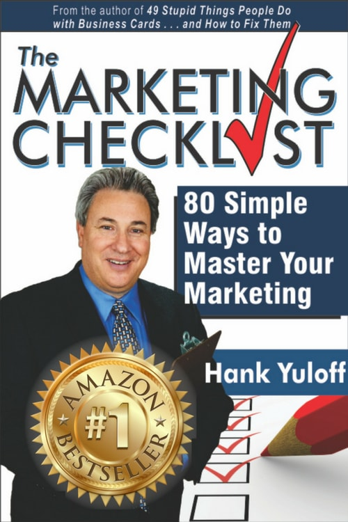 the marketing checklist